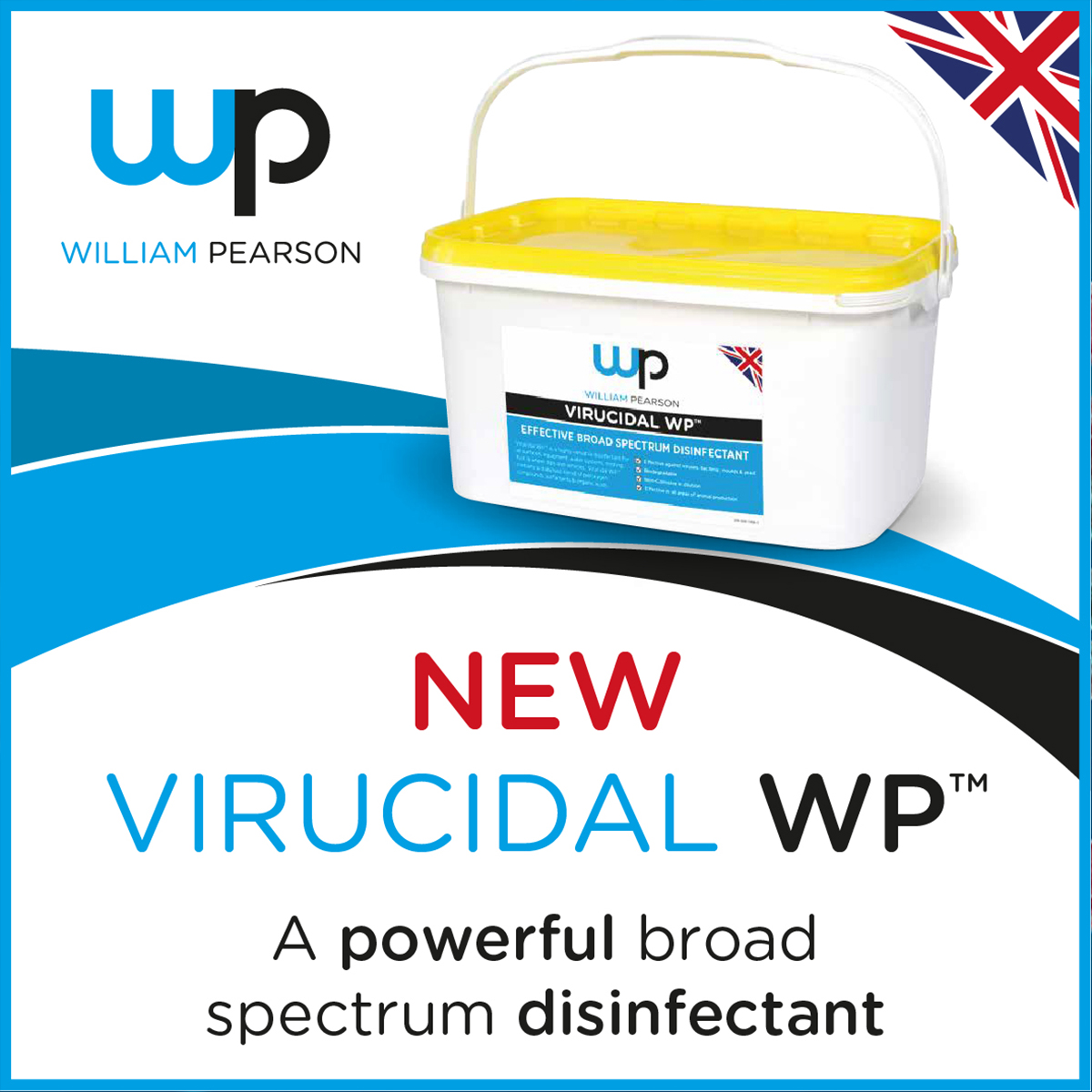 Introducing NEW Virucidal WP™ High quality, high performance disinfectant