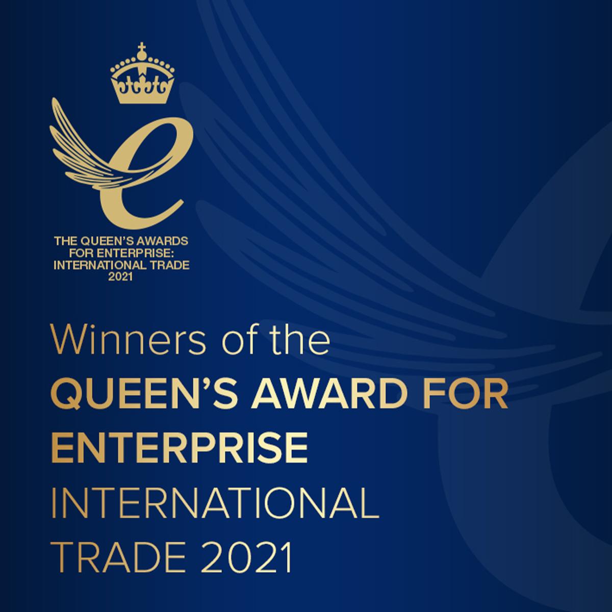 Mirius Wins Queen's Award for Enterprise International Trade 2021